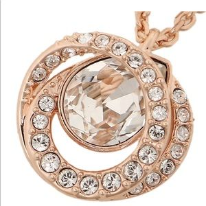 SWAROVSKI necklace  Rose Gold Pendant necklace